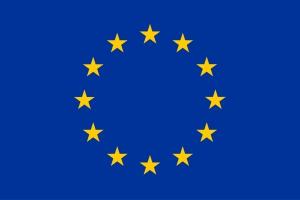 Vlag van de EU - blauw met gele sterren | Groen Rechts
